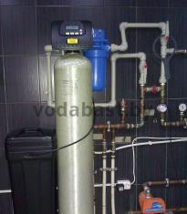 Система умягчения воды для коттеджа 10x54, блок управления Clack WS1RR