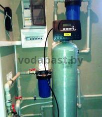 Станция обезжелезивания воды EMS-R 10x54, блок управления Clack WS 1 RR, г. Могилёв