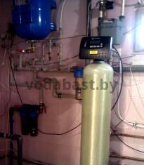 Система обезжелезивания воды 10x54, блок управления Clack WS 1 RR, Минский район