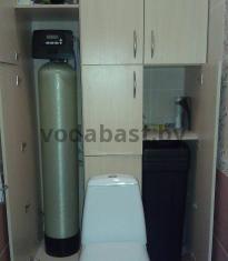 Система комплексной очистки по обезжелезиванию и умягчению воды 10x54, блок управления Clack WS 1 RR