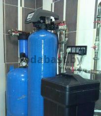 Система умягчения воды для коттеджа 12x52, блок управления Autotrol 255/760