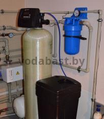 Система умягчения воды для коттеджа EMS-S12x52, блок управления Clack WS 1 RR