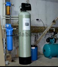 Станция обезжелезивания воды EMS-R 13x54, блок управления Clack WS 1 RR, г. Ельск, Гомельская область. Обеспечение качественной водой АБК мебельной фабрики