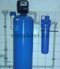 Станция безреагентного обезжелезивания воды EMS-F 13x54, блок Clack WS1ТС