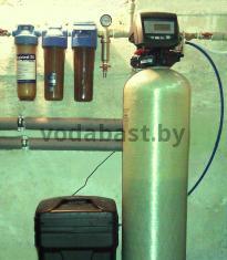Станция комплексной очистки воды Ecomix 10x54, блок Autotrol 255/760