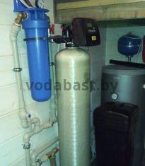 Система комплексной очистки по обезжелезиванию и умягчению воды 10x54, блок управления Clack WS1RR