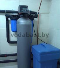 Cистема умягчения воды частного дома. Комплектация: танк 10х54, смола Purolite C100E, блок управления Autotrol 255/760