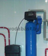 Система комплексной очистки по обезжелезиванию и умягчению воды 2 в 1, блок управления Clack WS 1 RR