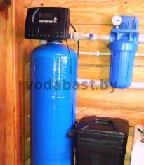 Станция умягчения воды EMS-S 12x52, блок Clack WS1RR