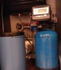 Система умягчения воды для квартиры 8x17, блок управления Autotrol 255/760