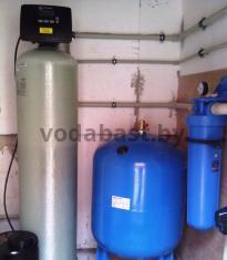 Станция обезжелезивания воды EMS-R 13x54, блок управления Clack WS 1 RR
