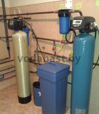 Система обезжелезивания и умягчения воды для частного дома