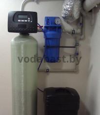 Система умягчения воды EMS-S 10x54, блок управления Clack WS 1 RR, Минский район