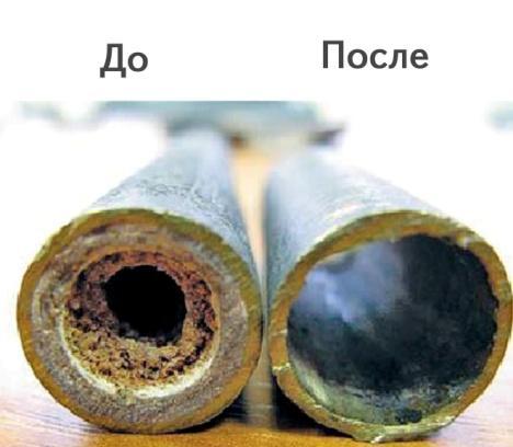 Очистка водопроводных труб в домашних условиях
